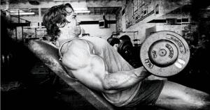 Rutina de ejercicios para pecho y bíceps