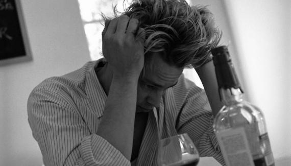 Daños del alcohol al cerebro