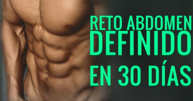 Reto definir abdomen en 30 días