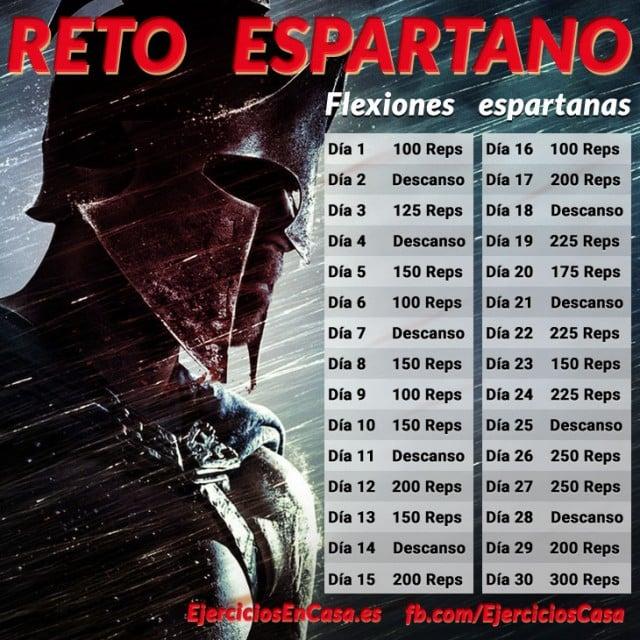 Reto Espartano 30 días