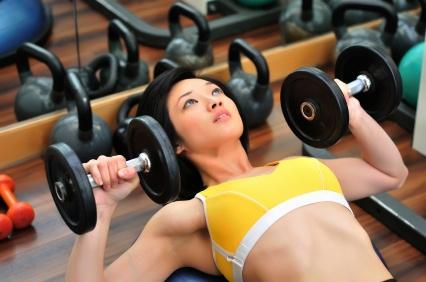 ejercicios para pecho mujeres