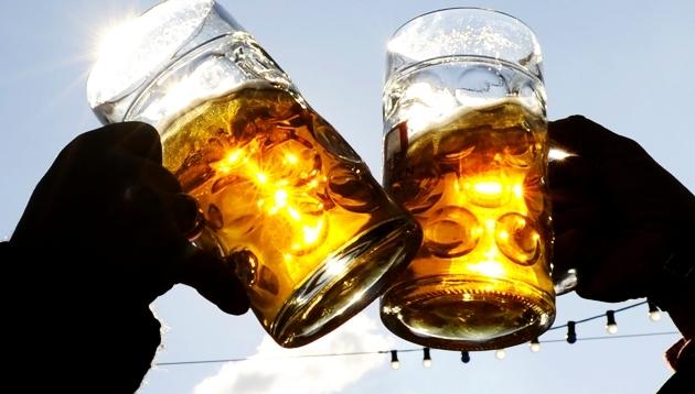 Beber alcohol después de entrenar