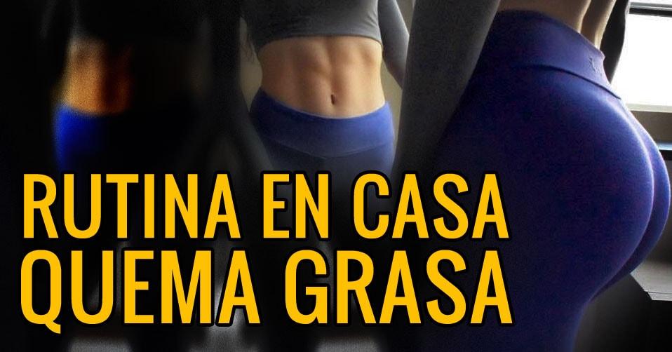 Circuito Quema Grasa En Casa : Rutina de cardio en casa gente que nunca perdía peso lo