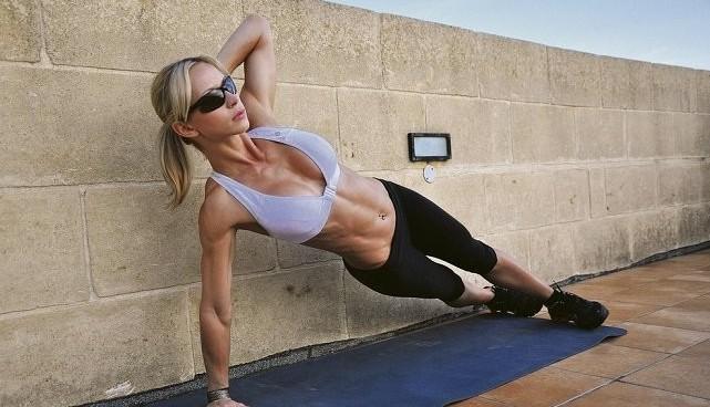 abdominales oblicuos para entrenar en casa