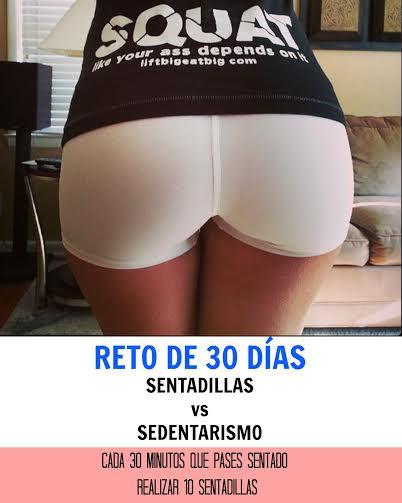 "RETO DE 30 DÍAS "" SENTADILLAS vs. SENTADO"""