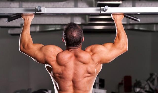 dominadas ejercicio para la espalda