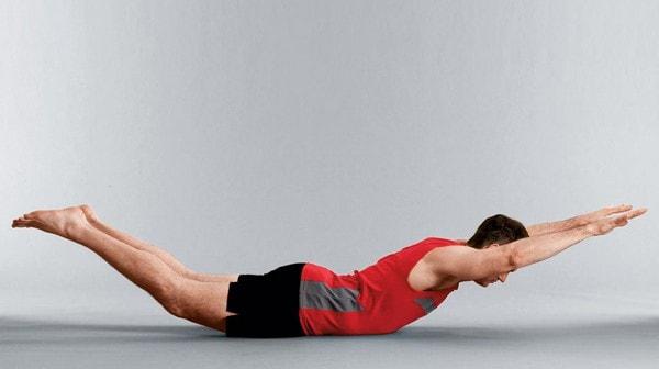 superman ejercicios lumbares