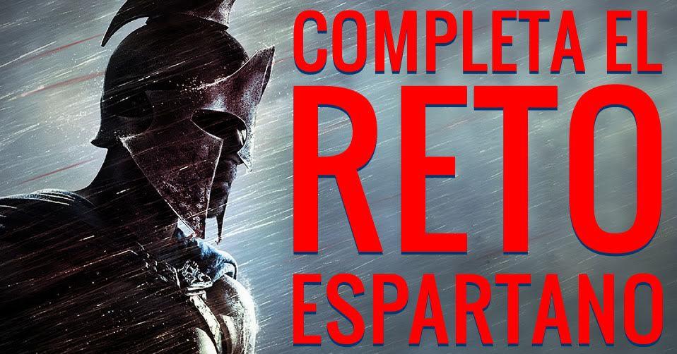 reto espartano
