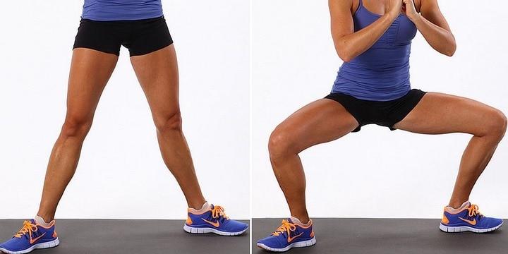Tabata para ejercitar las piernas