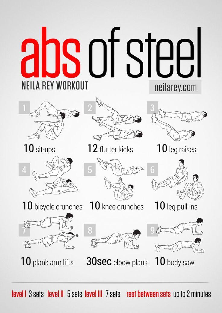 entrenamiento abdominales de hierro