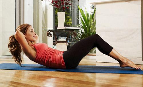 Circuito para tonificar las piernas y el abdomen en casa