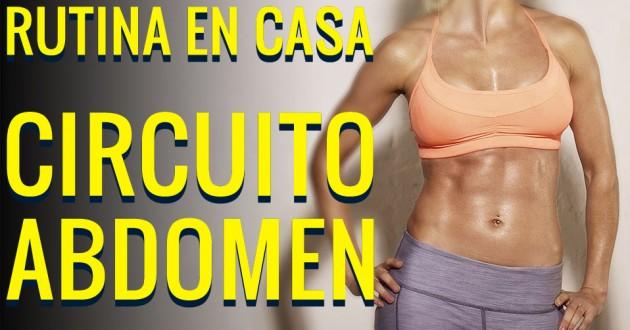 rutina de ejercicios para el abdomen en casa