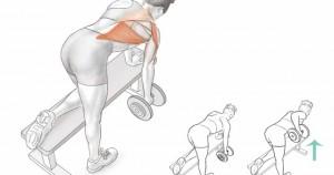Ejercicios para la espalda alta