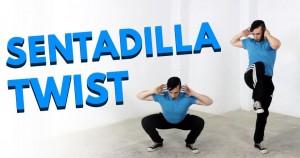 sentadilla twist