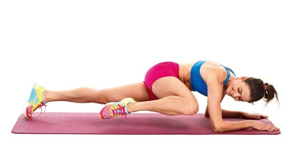 entrenamiento de abdomen en casa