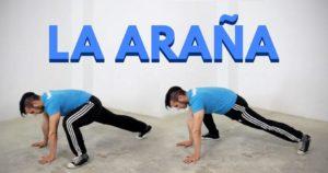 araña ejercicio