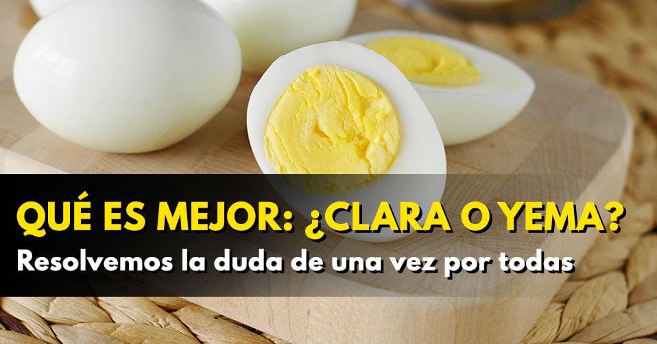Cuanta grasa en una clara de huevo
