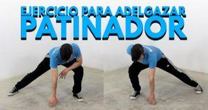 patinador ejercicio
