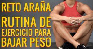 rutina de ejercicio para bajar peso