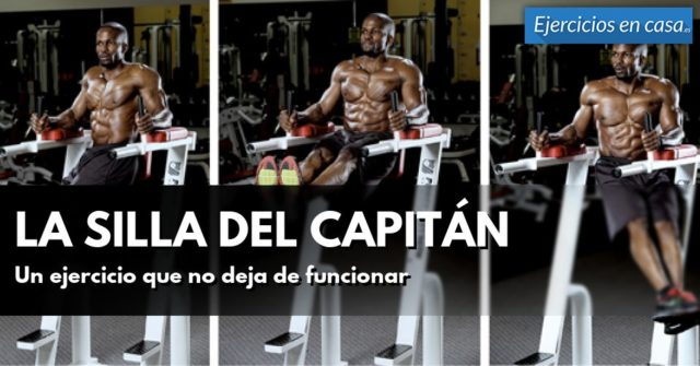 silla del capitán