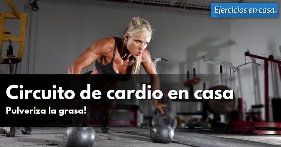 Circuito Hiit En Casa : Circuito de entrenamiento cardio en casa ejercicios