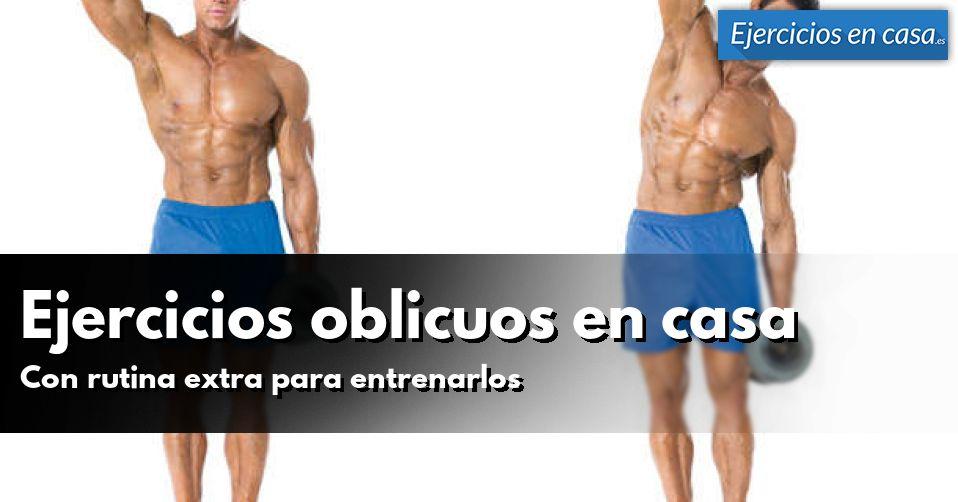 5 ejercicios abdominales oblicuos para hacer en casa - Material para hacer ejercicio en casa ...