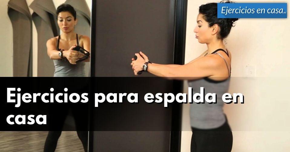 4 ejercicios de espalda en casa con rutina incluida ejercicios en casa - Ejercicios cardiovasculares en casa ...
