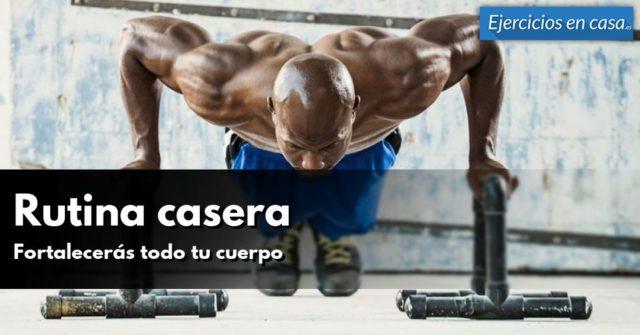 Rutina de ejercicios caseros: Tonifica y fortalece todo el cuerpo!