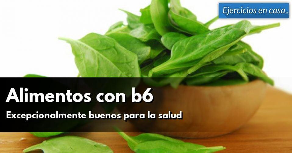 Descubre los alimentos con vitamina b6 fundamentales para la salud ejercicios en casa - Alimentos con muchas vitaminas ...
