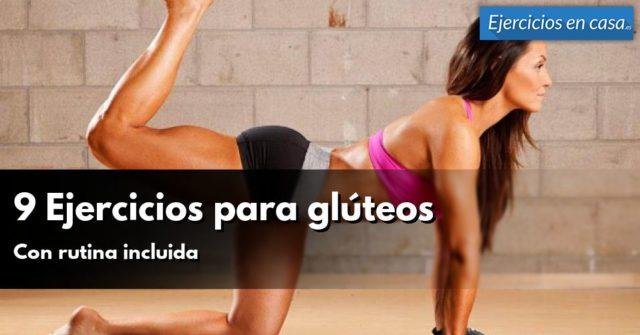 ejercicios para glúteo