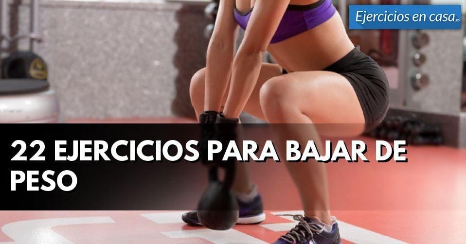 Rutinas de ejercicios para bajar de peso en un mes lo