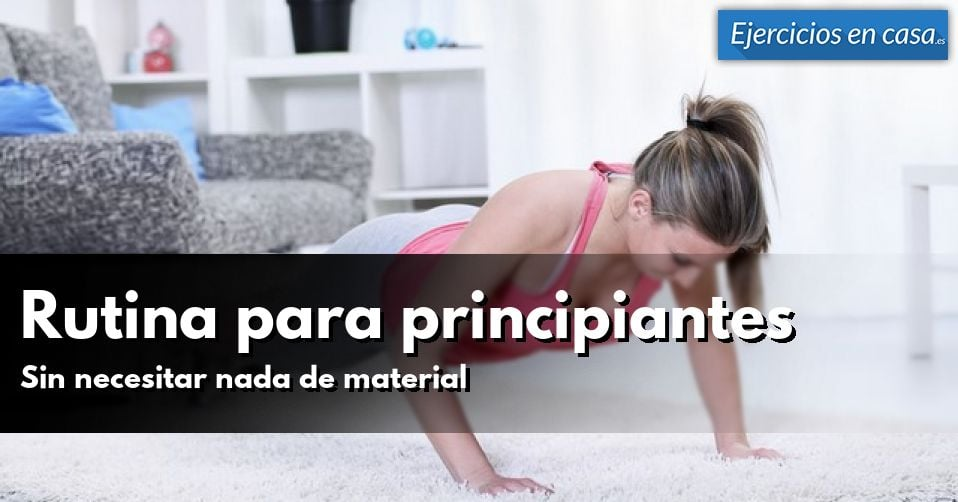 rutinas de musculacion principiantes