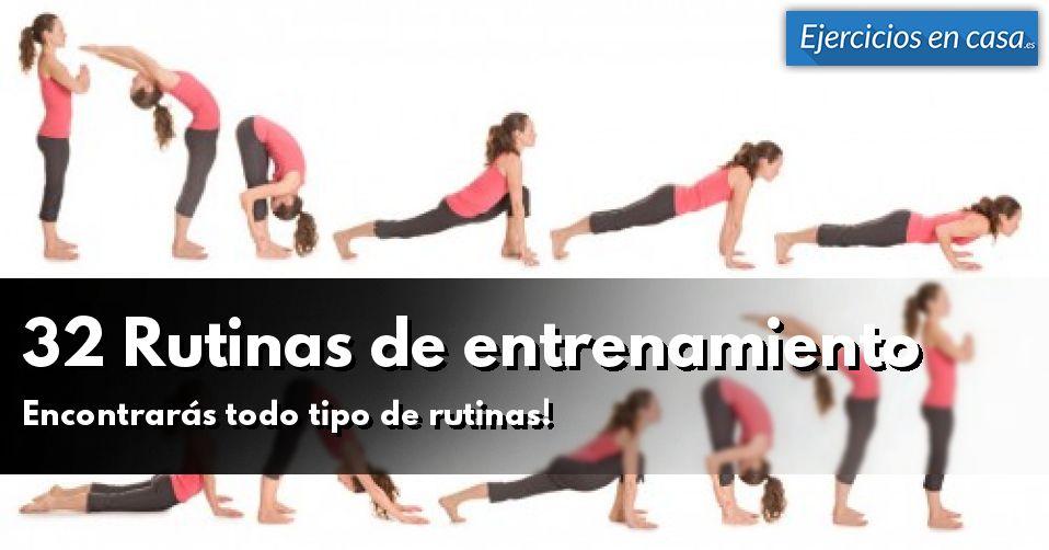 32 Rutinas de entrenamiento  Para ganar músculo f31a2a8da21b