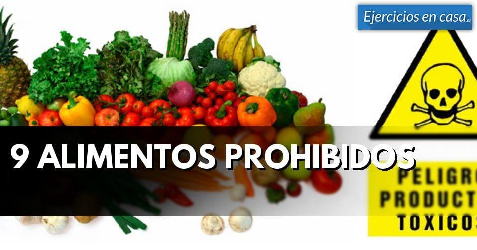 Los 9 alimentos prohibidos cuidado con ellos ejercicios en casa - Alimentos prohibidos con hemorroides ...
