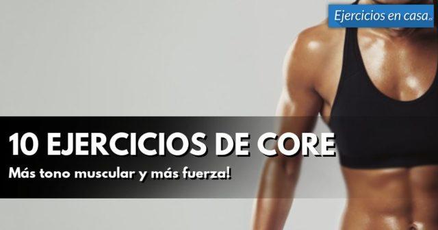 ejercicios de core