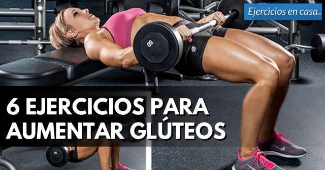 hacer crecer los gluteos con ejercicios