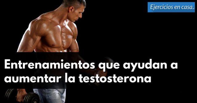 incrementar testosterona