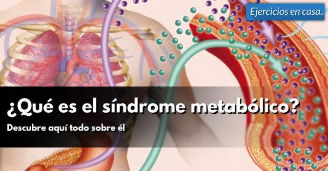 síndrome metabólico y grasa en la sangre