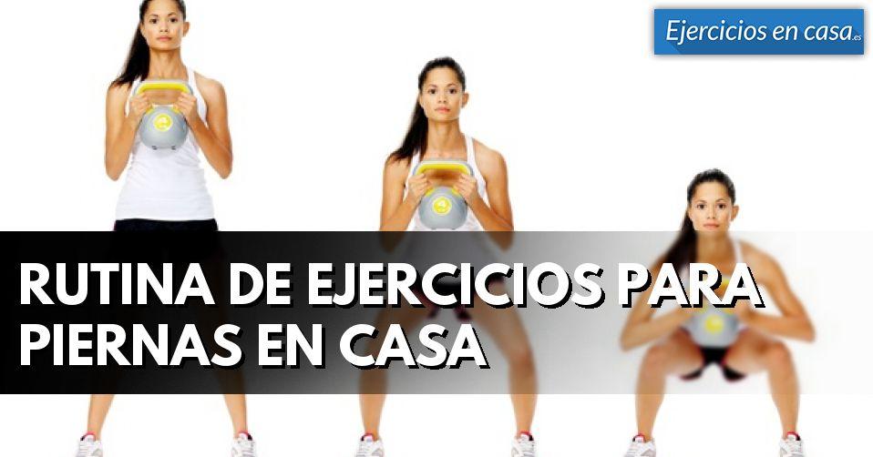 Rutina de ejercicios para piernas en casa ejercicios en casa - Barras de ejercicio para casa ...