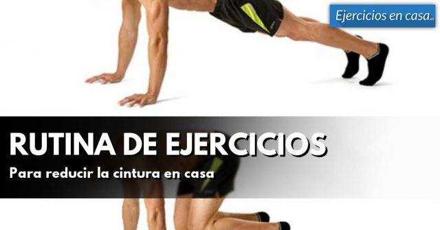 ejercicios para adelgazar cintura y barriga