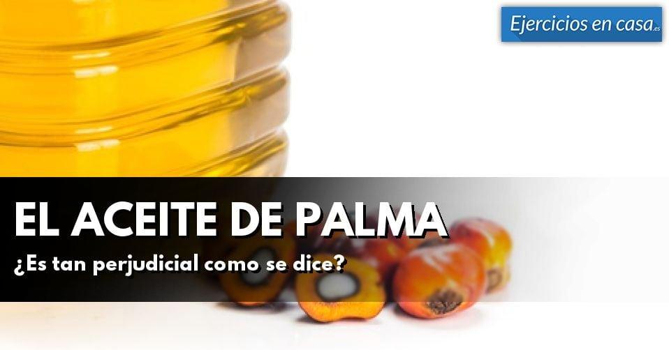 Problemas y beneficios del aceite de palma
