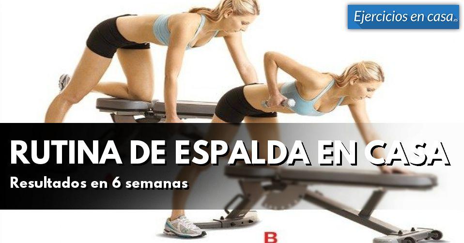 Rutina de ejercicios para espalda en casa ejercicios en casa - Ejercicios cardiovasculares en casa ...
