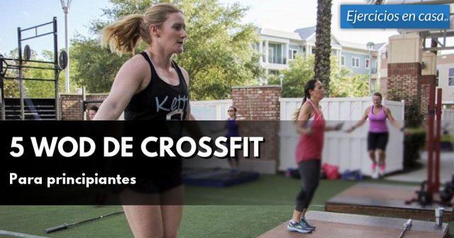 ejercicios de crossfit en casa sin material