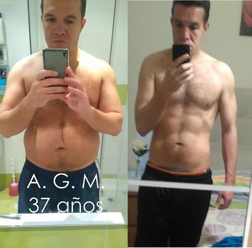 Adelgazar 30 kilos en 2 meses de aniversario