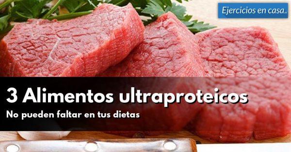 3 Alimentos para incrementar músculo: No debenfaltar en nuestra dieta