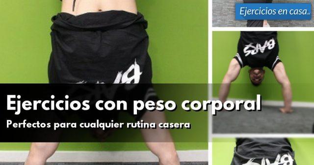 Ejercicios en casa aprende a hacer ejercicio sin salir - Material para hacer ejercicio en casa ...