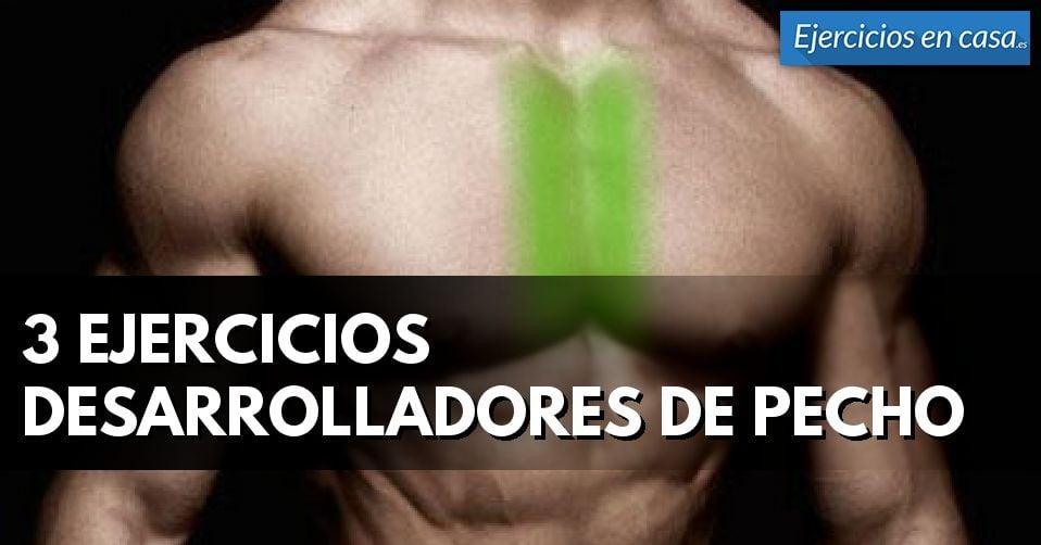 4 Ejercicios para construir músculo en el pecho