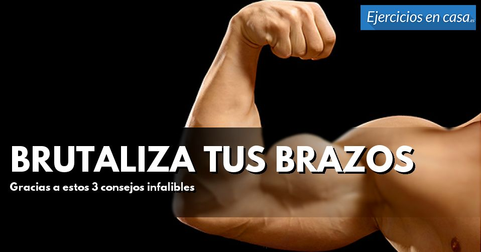 Voluminiza brutalmente tus músculos con estos consejos para entrenar bíceps