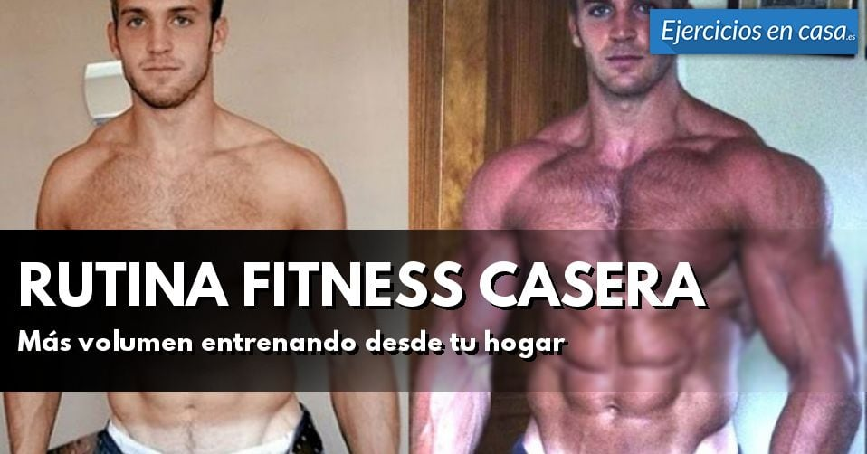 Rutina de entrenamiento fitness en casa ejercicios en casa - Plan de entrenamiento en casa ...