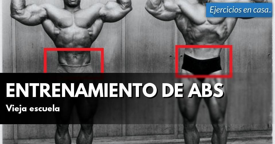 entrenamiento para abdomen